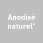 Alu - Anodisé naturel