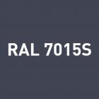 Alu - satiné RAL 7015S