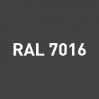 Alu - satiné RAL 7016