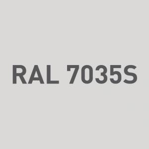 Alu - satiné RAL 7035S