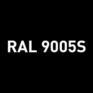 Alu - satiné RAL 9005S